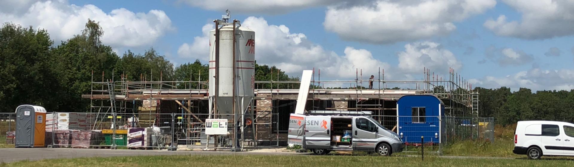 bouw gestart in Buitengewoon Norg